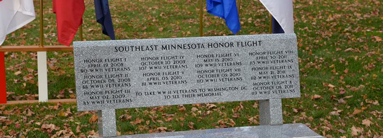 veterans dedications honor flight